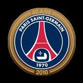 Logo 40ans du club PSG