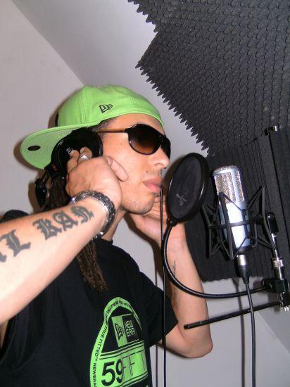 En studio