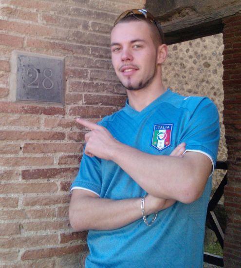 Moi à Napoli 2009 !