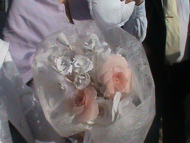 bouquet de mariage en pergamano