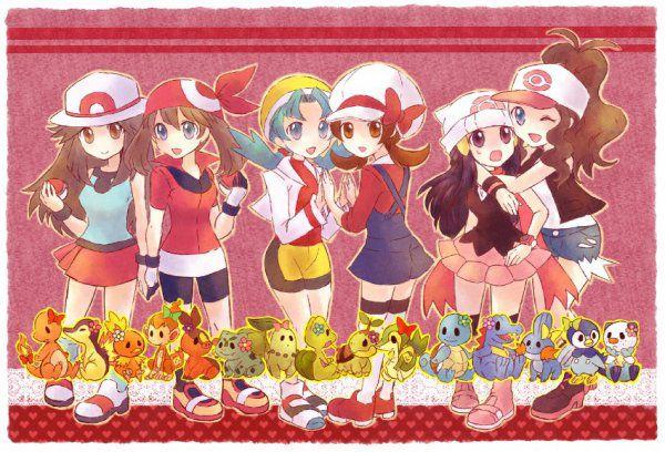 Les pokemons girls