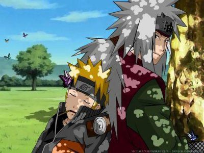 Naruto et Jiraya