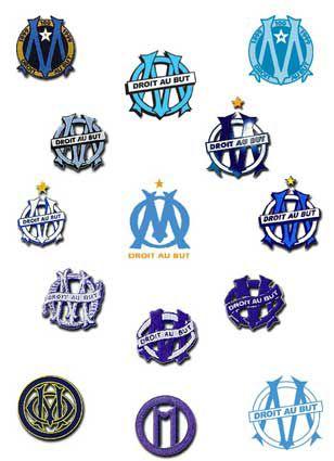 tous les logos de L'OM