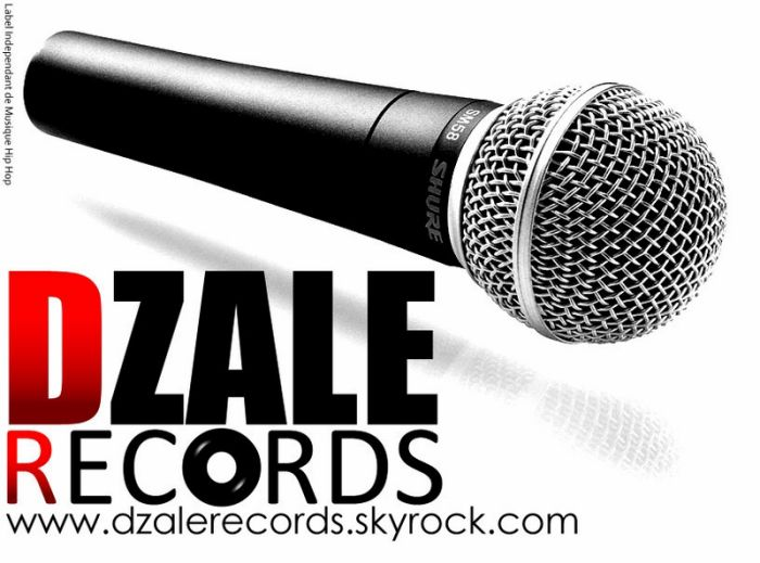 Dzalé Records New Logo
