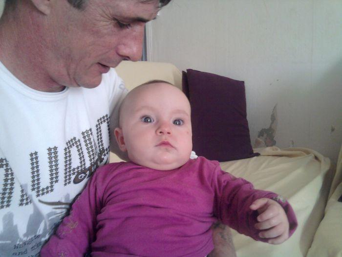 mon pere et ma niece