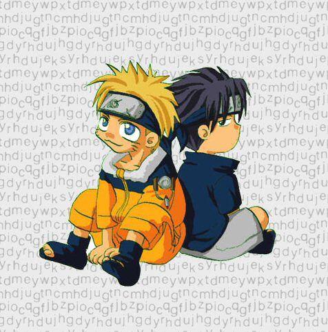 Naruto et Sasuke petit