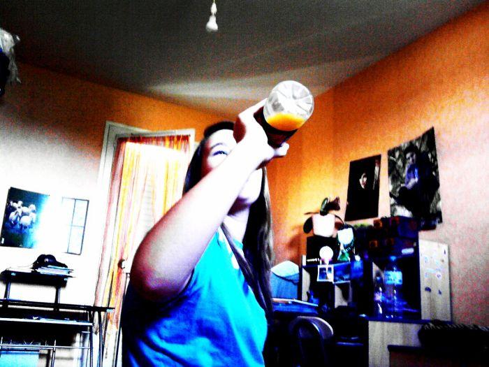 T'aime le jus d'orange ? :P