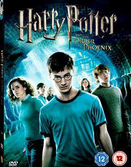 pochette harry potter et l'ordre du phenix dvd