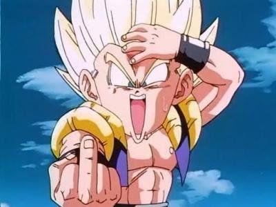 Gotrunks Doigt D Honneur Fande Dragon Ball Skyrock Com