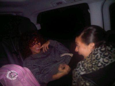 Rihanna a twitté cette photo. 11/12/10