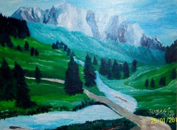 La montagne  pour mes grands-parents