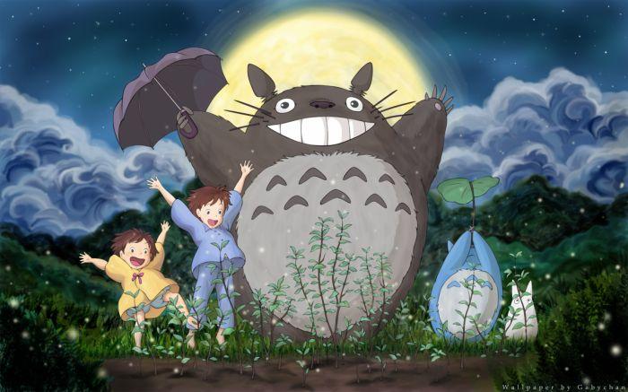 satsuki, mei et totoro