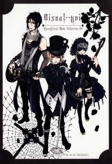 Sebastian , Ciel & Joker