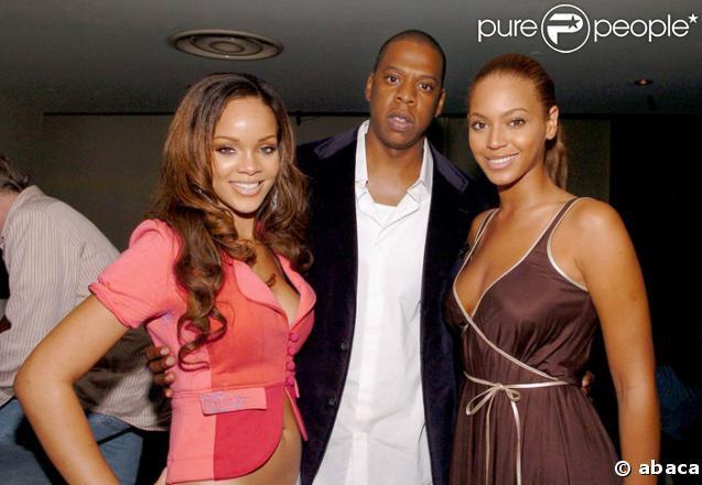 Rihanna, Jay-Z et Beyoncé