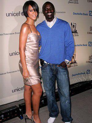 Rihanna et Akon
