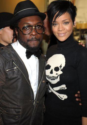 Rihanna et Will I am