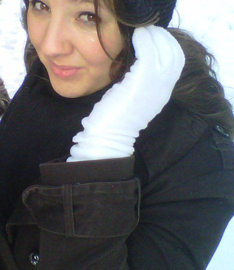 Sous la neige xD
