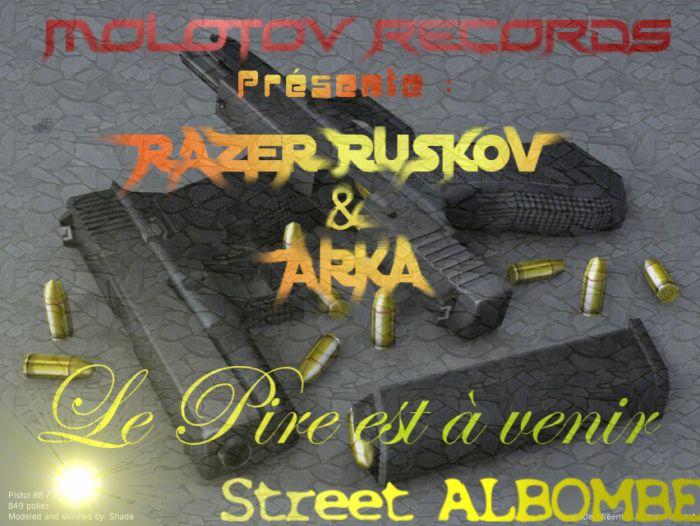 MOLOTOV RECORDS PRESENTE razer-ruskov & arka du 77