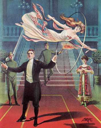 Une affiche de magie que j'aime bien