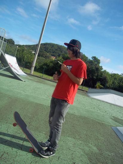 Spliff + skate = quoi de mieux avec ses potos ..