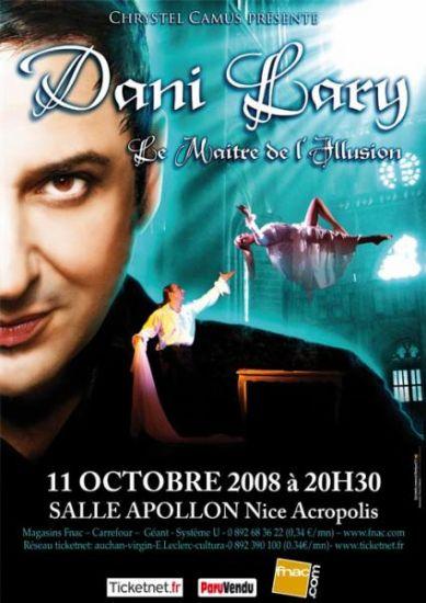 Dani Lary le représentant des grandes illusions en France