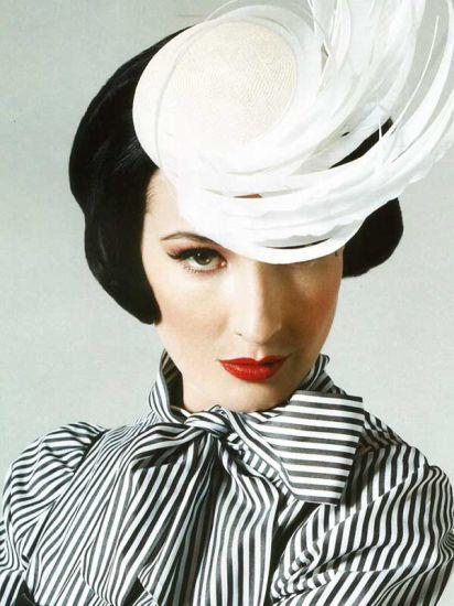 Dita Von Teese. Un modèle.