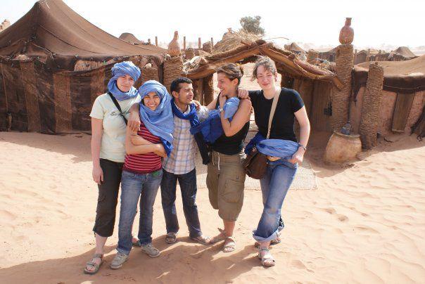 moi te me amis au sable sahara