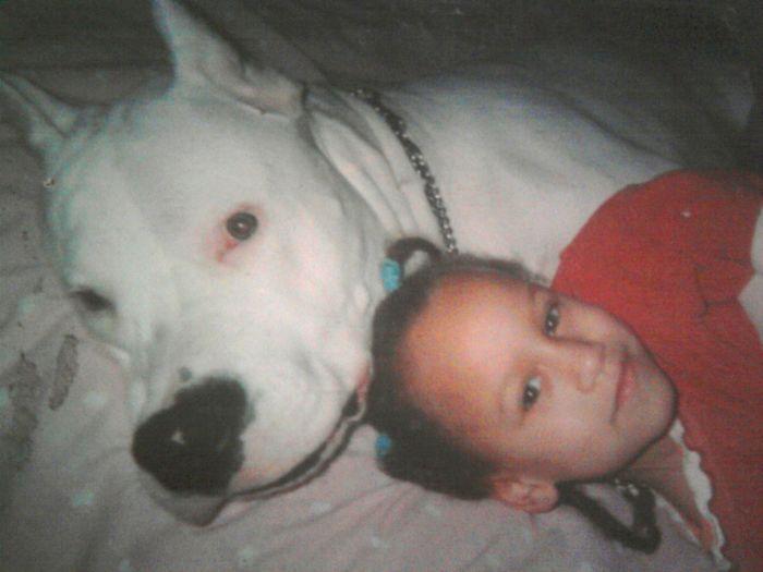 Mon Chien et ma nièce