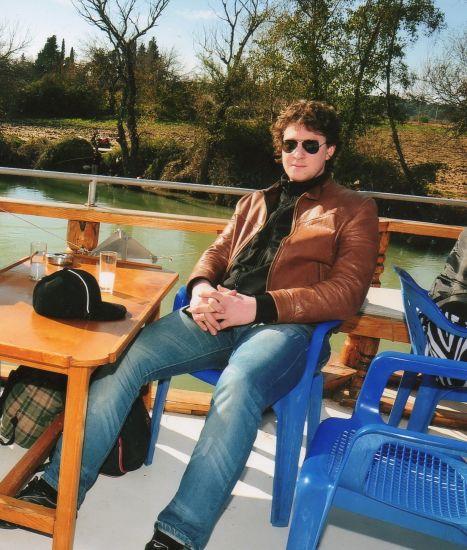La sur le fleuve d'antalya turkey