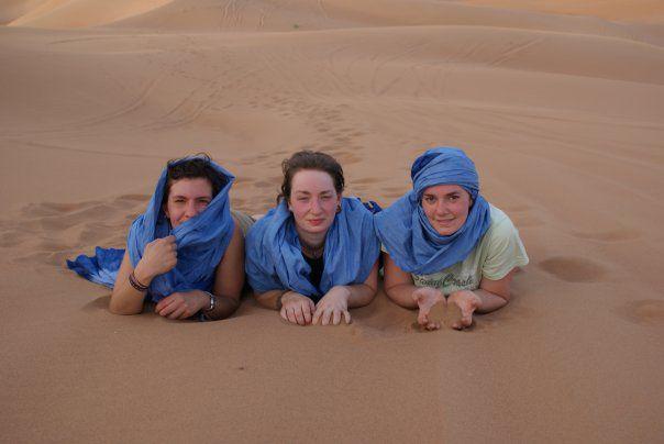 tourisme au sable de sahara