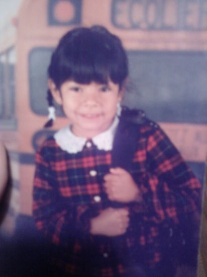 Moi... a 7 ans :)
