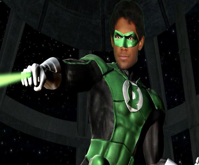 En mode Green Lantern ^^