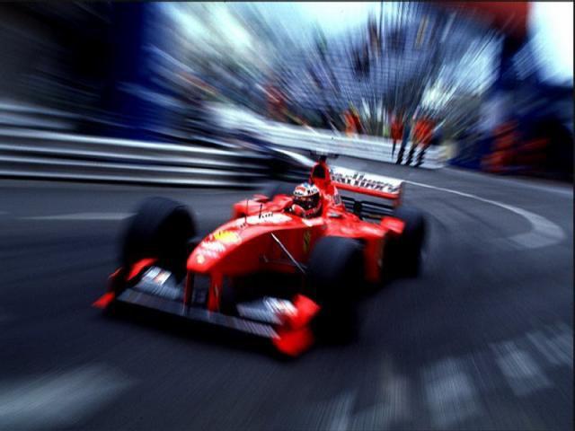 Schumi à Monaco