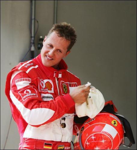 Schumi avant le Grand prix de Turquie à Istanbul (2006)