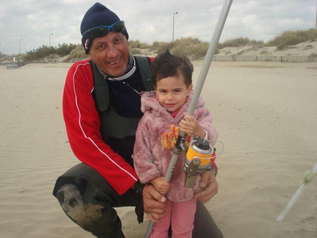 partie de pêche avec ma nièce
