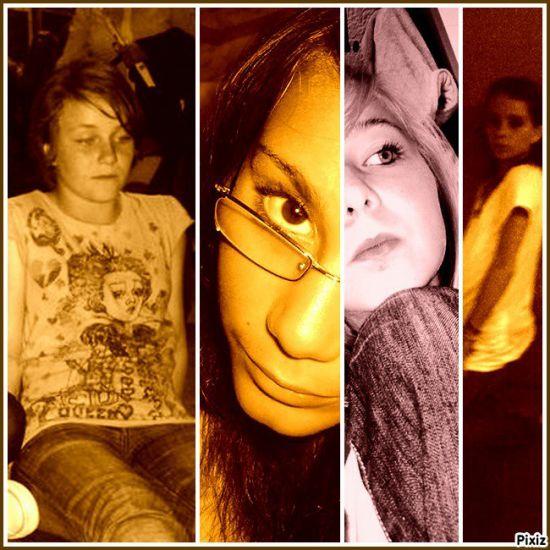 Charlene& Johanna& Anais& Moi