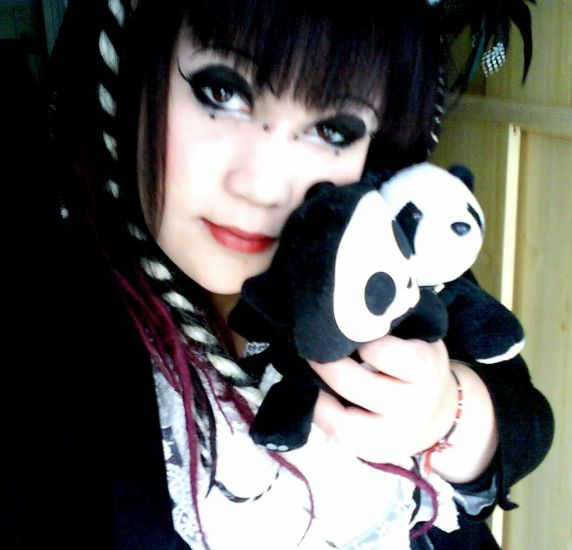 me with my Panda and ma Kit