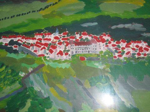 peinture du village