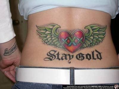 le tatoo de ma soeur