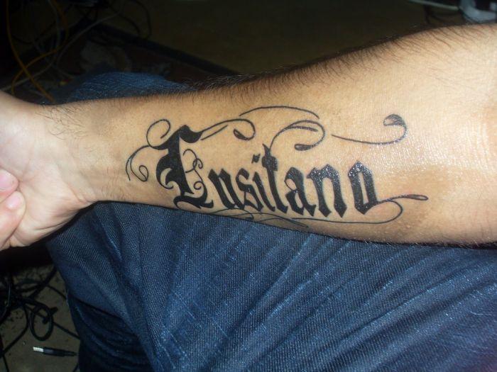 mon Tatouage Lusitano !!