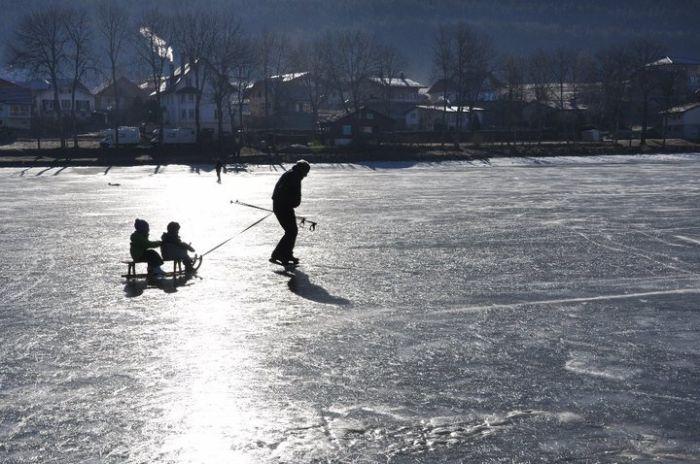 Lac de Joux/ La Vallée de Joux/ Vaud / © 2011