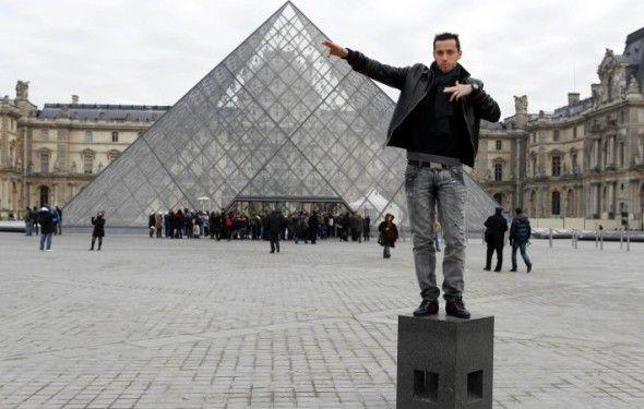 Néné au Louvre