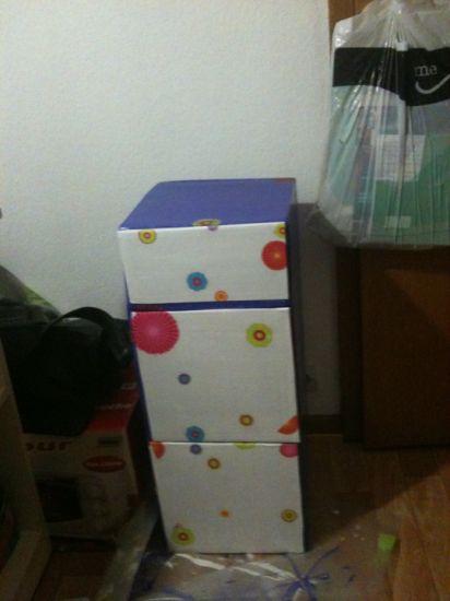 meubles WC en carton