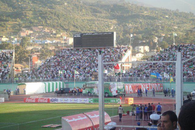 Ankunft der algerischen Nationalmanschaft !!!