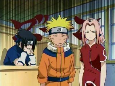 Ca c'était au début des Naruto quand Kakashi vient d'arriver