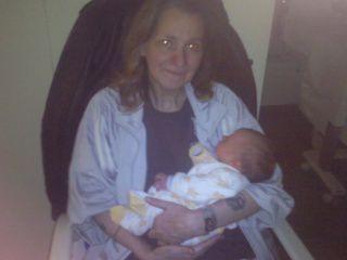 ma maman et mon loulou a la materniter<3
