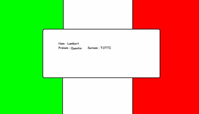 le plus beau drapeau
