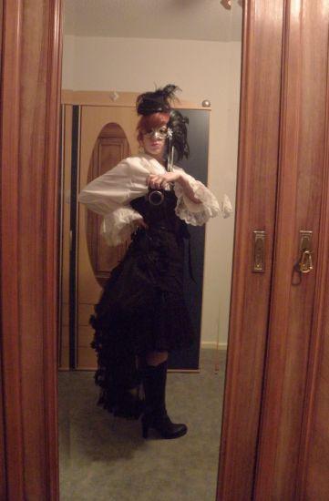 Elegant Gothic aristocrat. Mysterious.