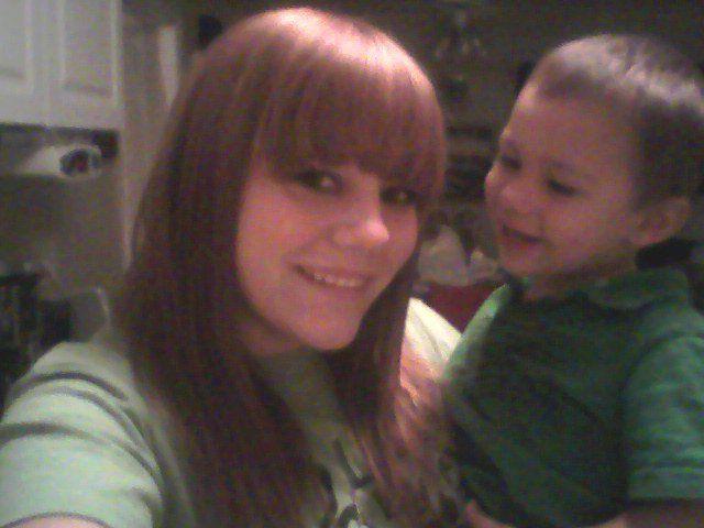 my nephew and i