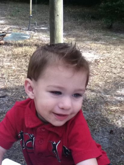 i am my nephews hair stylist btw:)